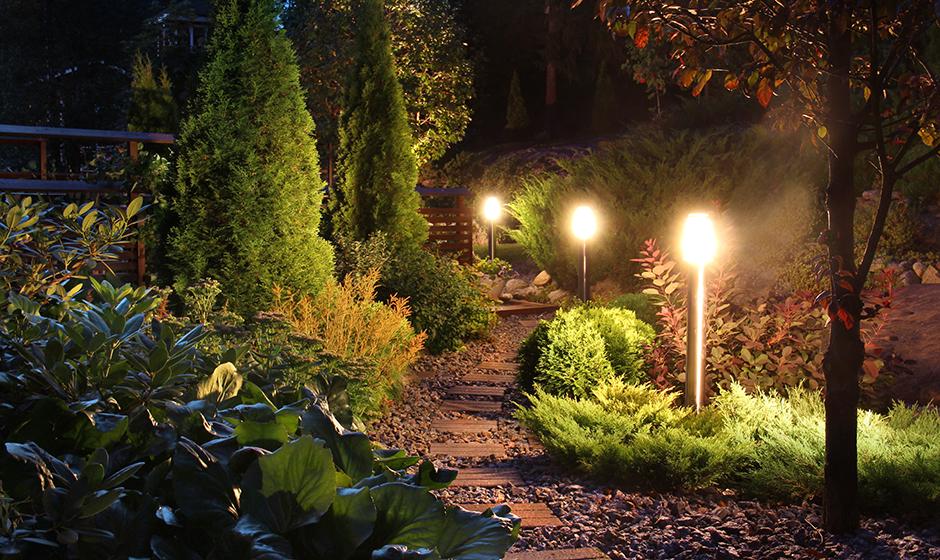 Eclairage du jardin – la nouvelle tendance - Amaudruz S.A. ...